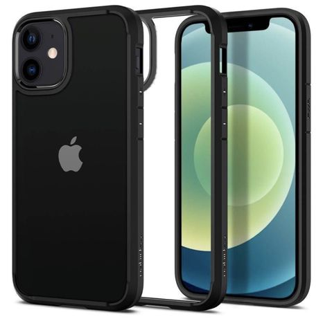 Spigen Etui Ultra Hybrid iPhone 12 Mini czarny