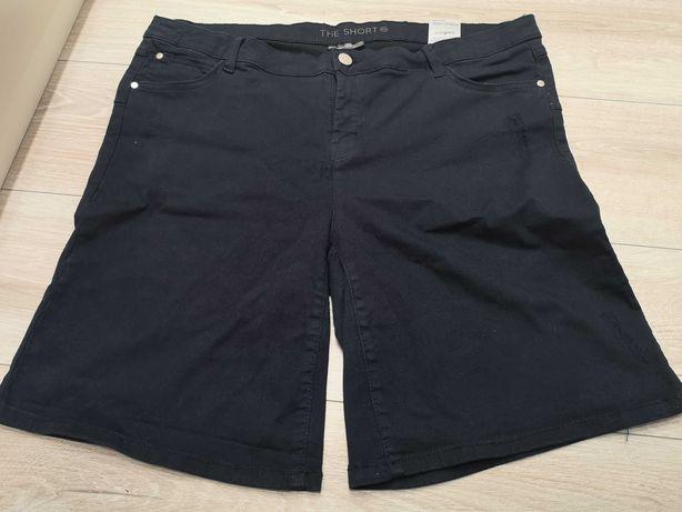 Szorty krótkie spodnie granatowe C&A Yessica EUR 46