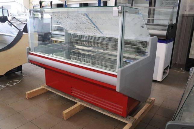 Холодильная витрина Juka FGL 160 A -2_+8 160см газлифт стекла