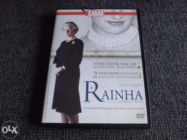 DVDs Câmara indiscreta + A Rainha + Os crimes do rio rei + O visitante