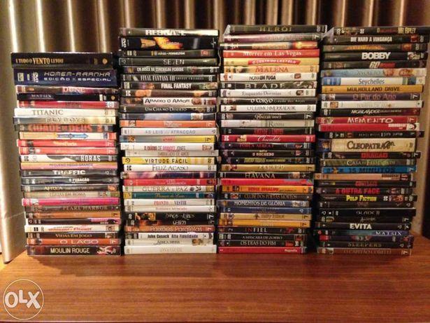 Pack de filmes en DVD - 72 títulos originais em caixa