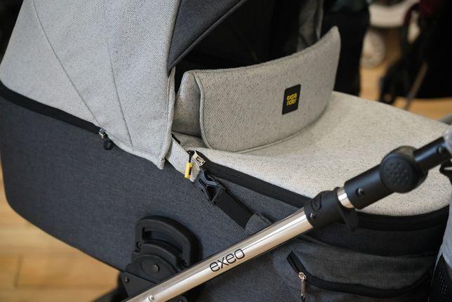 Wózek dla dziecka EXEO 2w1 z opcją 3w1 lekki | WYPRAWKA GRATIS!