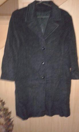 Kurtka 44/46 L/XL damska jesienna zimowa szara płaszcz wełniany damski
