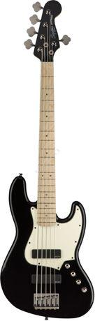 Squier Contemporary Active Jazz Bass V HH MN BLK + GRATISY - gitara b
