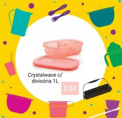 Tupperware - Crystalwave - vários tamanhos
