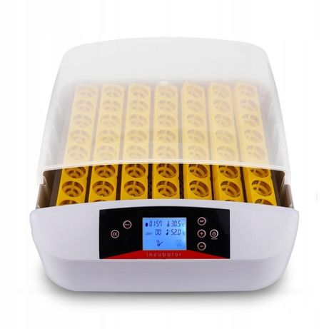 Automatyczny Inkubator Do 56 Jaj Z Owoskopem 220V