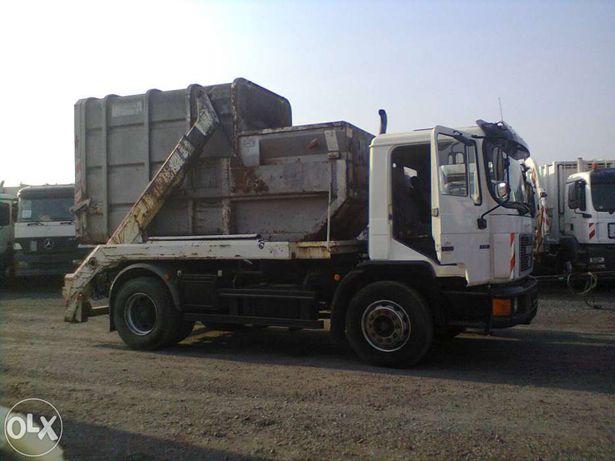 Wywóz śmieci gruz odpady , kontener kp 1100