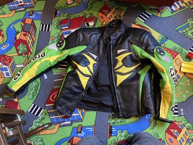 Kurtka skorzana na motocykl hein - gerickie 50 uzywana przez rok