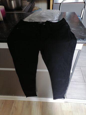 Spodnie czarne dżinsowe