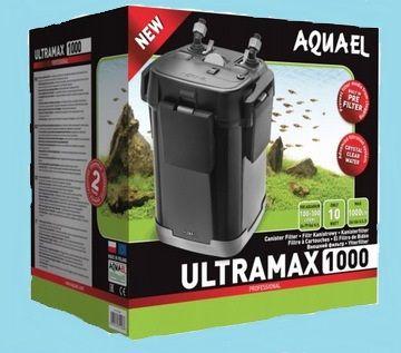 Filtr zewnętrzny Aquael Ultramax 1000 plus komplet wkładów