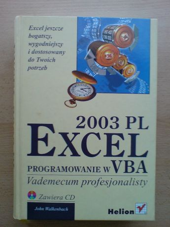Programowanie w VBA. Vademecum profesjonalisty, John Walkenbach