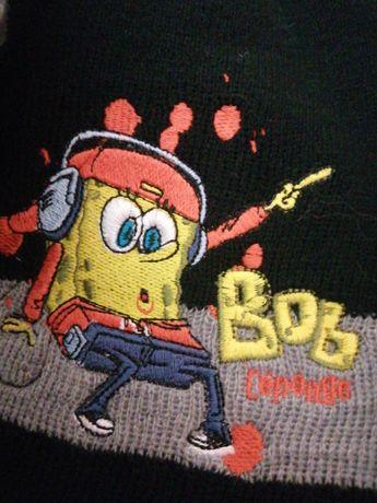 Czapka i rekawiczki SpongeBob
