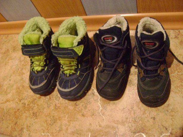 ботинки сапоги зимние детские стелька 15 см р.26 и 16,5 см р.27