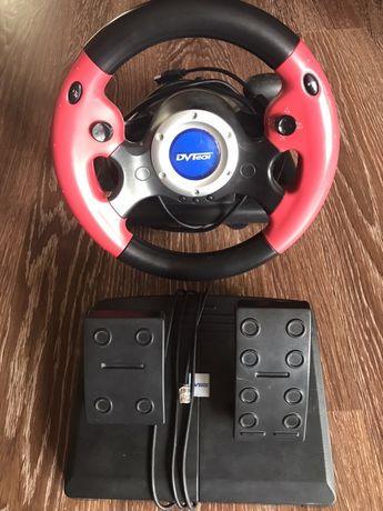 Продам б/у игровой руль  DVTech WD198 Big Foot