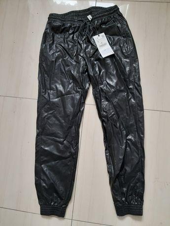 Spodnie zara Eco skóra