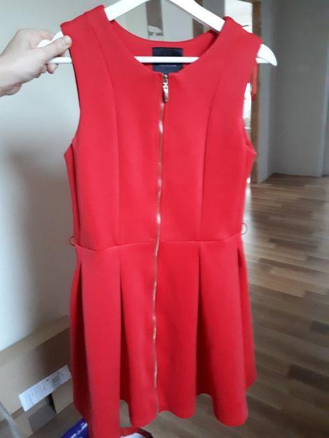 Czerwona sukienka mohito M 38 zamek