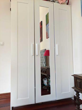 Armário Guarda Roupa 3 Portas c/Espelho