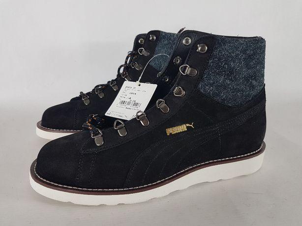 puma HIKER buty damskie trzewiki za kostkę r40,5 nowe czarne