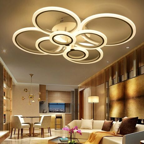 Lampa LED ring LAMPA sufitowa PLAFON RING 2*4 Z
