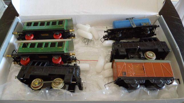 Pozostałości po kolekcji modeli kolejowych NRD. Skala S.