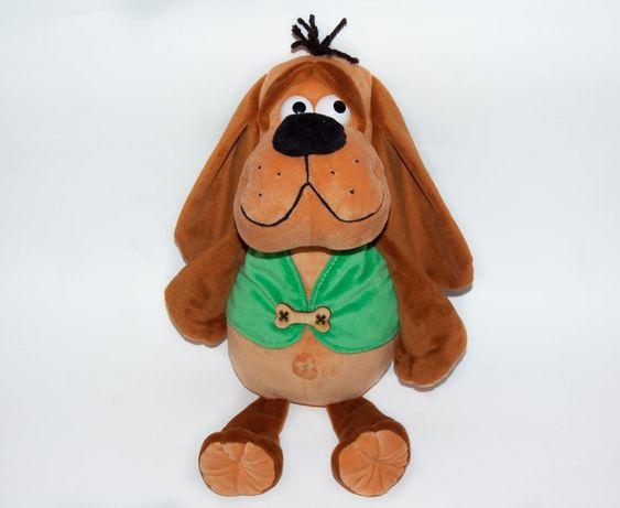 Мяка іграшка мягкая игрушка пес собака 35 см