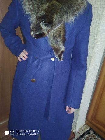 Пальто  натуральный мех новое качество супер