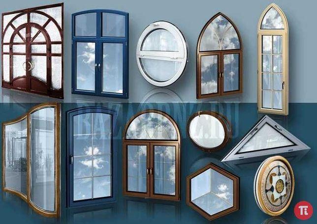 металлопластиковые окна и двери,не дорого,изготовление и установка