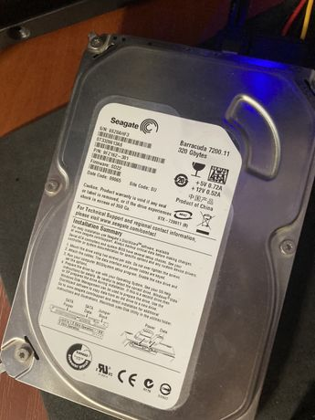 Жесткий диск sata 3.5 hdd 320gb гб seagate