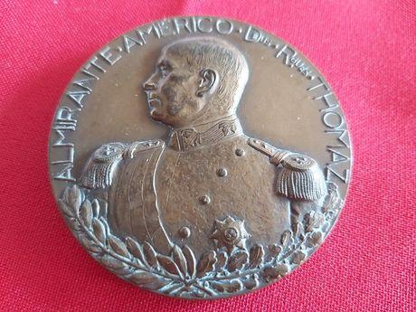 """4 Medalhas Comemorativas """"Estado Novo"""" Década 50/60 Prata e Bronze"""