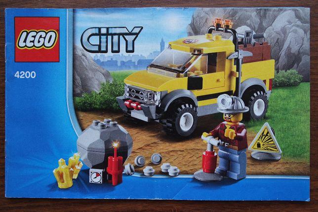 LEGO City Шахтерский внедорожник (4200), б/у, продам.