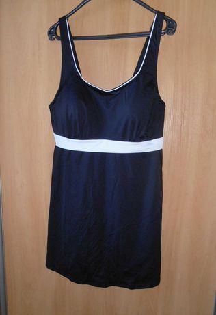 купальник платье 56-58 размер черное