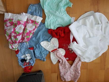 Promocja cena 60 zł Paka ubrań dla dziewczynki od 3 m-cy do 2 lat