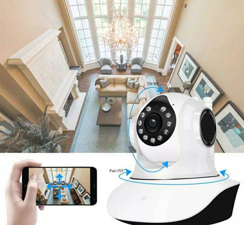 Câmara 1080p Hd Wifi sem fios 3 Antenas (Imagem em tempo real) Novo