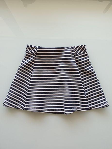 Nowa ładna spódniczka spódnica w paseczki 98 cm!