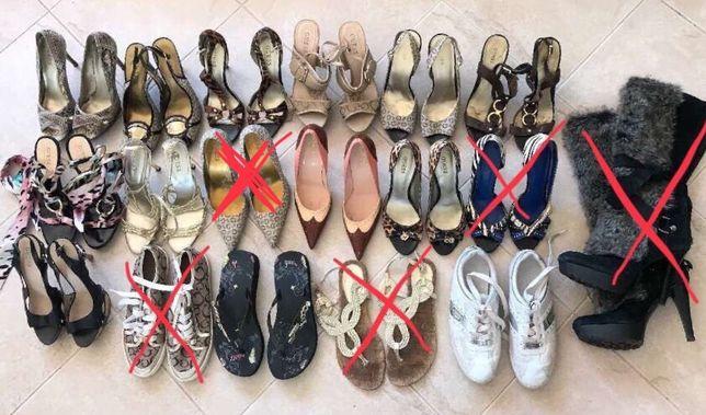 Lote de sapatos da marca GUESS tamanho 38