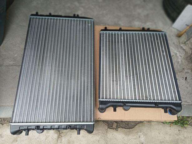 Радіатор основний кондеціонера вентелятор Шкода фабія
