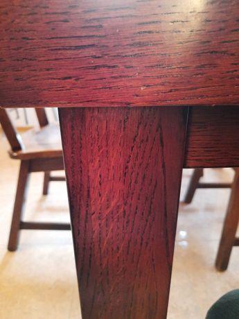 Stół    dębowy  stół  dębowy