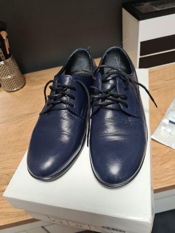 Buty chłopięce PAWO skórzane 1 raz założone + gratis