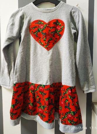 Sukienka dla dziewczynki rozm 128