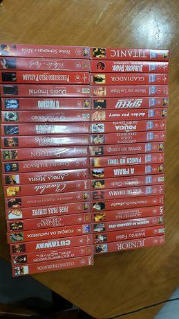 Filmes em vhs pra coleção .