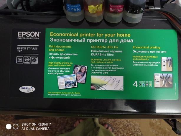 Принтер EPSON T 27