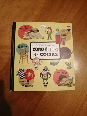 Livro pop up Como Sao Feitas as Coisas