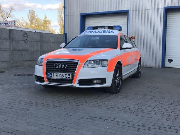 Автомобиль Скорой помощи на базе Audi A6 , Ambulanzmobile заводской