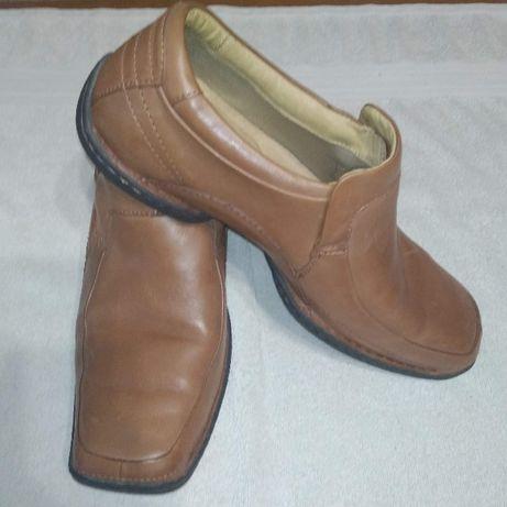туфли на резинке Clarks мужские