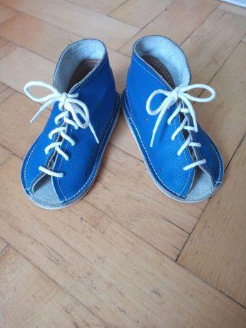 Sandałki skórzane firmy Profilek, rozmiar 22