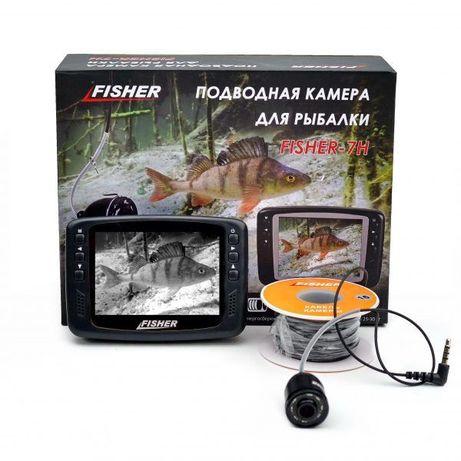 Подводная видеокамера Fisher CR110-7H, 15 м, Бесплатная доставка, Гара