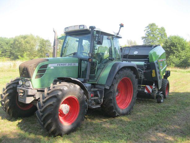 Fendt 312 Vario TMS 2011r ciągnik rolniczy