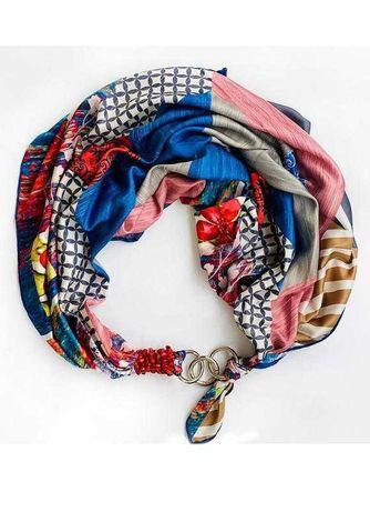 """Шелковый платок """"Вдохновение цветом"""" от бренда my scarf"""