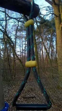 place zabaw uchwyt linowy 16mm do wspinaczki wspinaczkowy