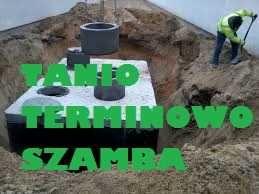 Zbiornik Betonowy 9000l ścieki wodę Szambo Betonowe na gnojówkę